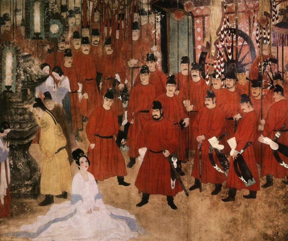 Đường Minh Hoàng xử tử Dương Quý Phi