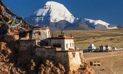 """Tu viện Chiu Gompa -  tu viện """"chim sẻ"""" ở Tây Tạng, Trung Quốc"""
