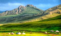 Vẻ đẹp của vùng đất Ordos ở khu tự trị Nội Mông, Trung Quốc