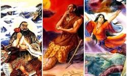Ba vị thần của Tam Hoàng Ngũ Đế trong sử sách Trung Hoa